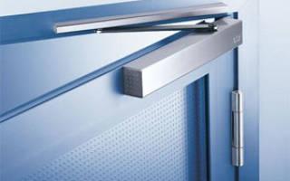 Как правильно выбрать доводчик для входной двери?