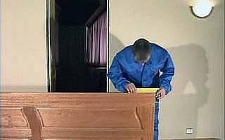 Сборка дверной коробки из МДФ