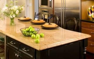 Как выбрать материал столешницы для кухни?