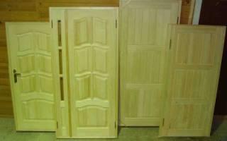 Как изготовить дверь своими руками из дерева?