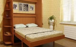 Как самому сделать откидную кровать?
