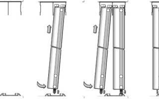 Как крепить двери купе в шкафу?