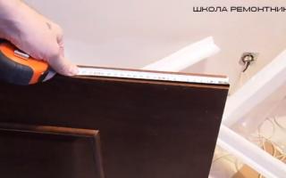 Как вырезать отверстие под петли на дверь?