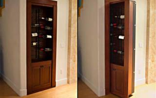 Как сделать потайную дверь в шкафу?