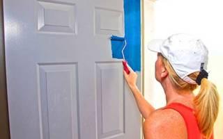Какой краской покрасить межкомнатные двери из дерева?
