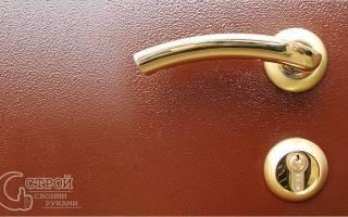 Какой краской покрасить железную дверь?