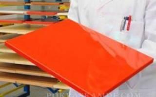 Как шлифовать МДФ под покраску?
