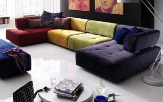 Как красиво обшить диван?