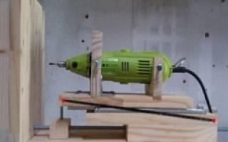 Как сделать сверлильный станок из дерева?