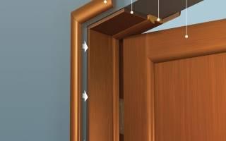 Как расширить коробку межкомнатной двери?