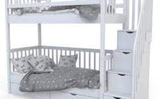 Как выбрать матрас для двухъярусной кровати?