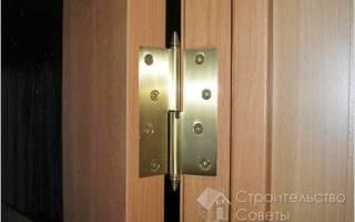 Как одному навесить тяжелую дверь?