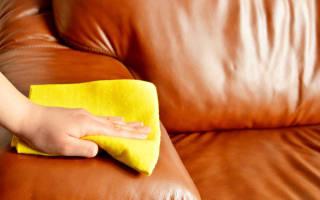 Как чистить кожаную мебель?