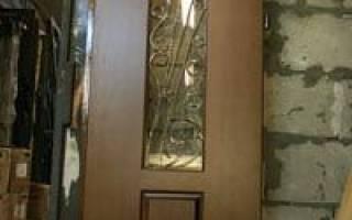 Как убрать царапины на входной двери?