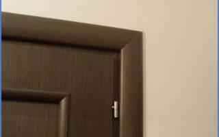 Как поменять наличники на межкомнатные двери?