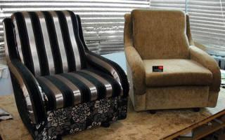 Как перетянуть самостоятельно мебель?
