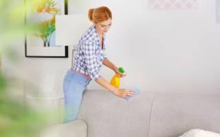 Как почистить мягкий диван?