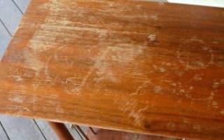 Царапины на столешнице из МДФ как убрать?