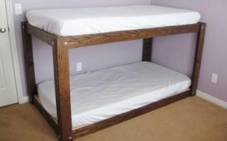 Можно ли распилить двухъярусную кровать?