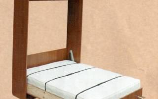 Как сделать кровать на шкафу?