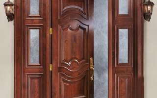 Как крепить утеплитель к деревянной двери?