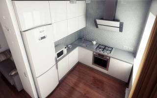 Как сделать холодильник встроенным в шкаф?