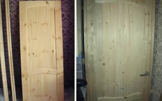 Как правильно красить деревянные двери?