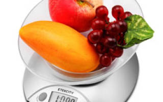 Как выбрать электронные весы для кухни?