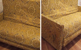 Как преобразить старый диван?