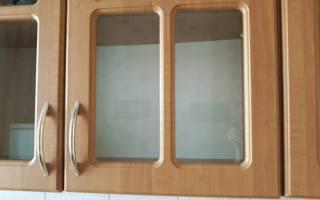 Чем удалить жир с кухонной мебели?
