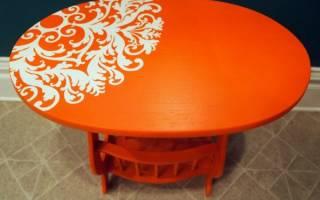 Чем покрыть кухонный стол из дерева?