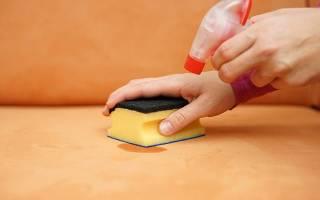 Как отстирать ручку от дивана?