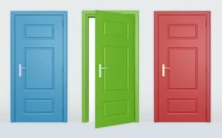 Можно ли покрасить двери из ДСП?