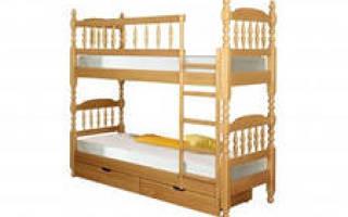 Как укрепить двухъярусную кровать?