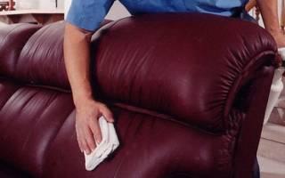 Чем чистить кожзаменитель на мебели?