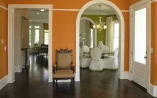 Как отделать проём между комнатами без двери?