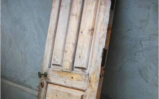 Как обшить наружную дверь?