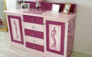 Как дать вторую жизнь старой мебели?