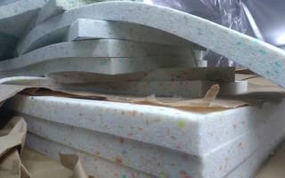 Какой поролон используют для мебели?