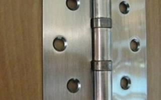 Как правильно разметить петли на межкомнатную дверь?