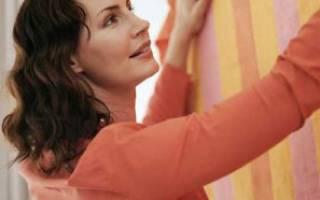 Как клеить клеенку на стены кухни?