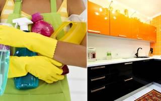 Чем мыть акриловые фасады кухни?