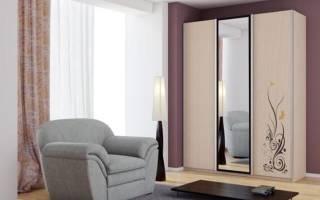 Как наклеить зеркало на дверь шкафа?