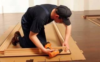 Как правильно собрать коробку для межкомнатной двери?