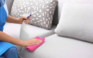 Как очистить пятна крови с дивана?