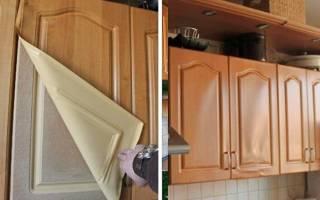 Как переклеить фасады кухни?