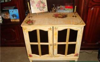 Как отреставрировать старую полированную мебель?