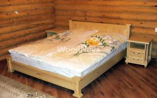 МДФ каркас кровать с фанерой