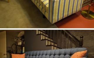Как правильно перетягивать мягкую мебель?