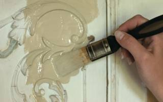 Чем покрасить пленку ПВХ на мебели?
